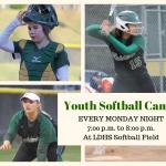 Youth Softball Starts Monday, June 10, 2019
