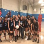 Girls Middle School Volleyball – Laurens beats Ht, Sms, Gco 4 – 0