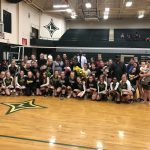 Varsity Volleyball Wins on Senior Night