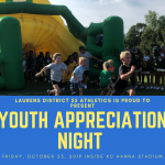 Laurens District 55 Football Team Hosts Youth Appreciation Night