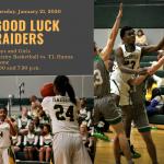 Good Luck Raiders