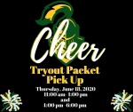 LDHS Cheer Tryout Packet Pick Up Thursday, June 18, 2020