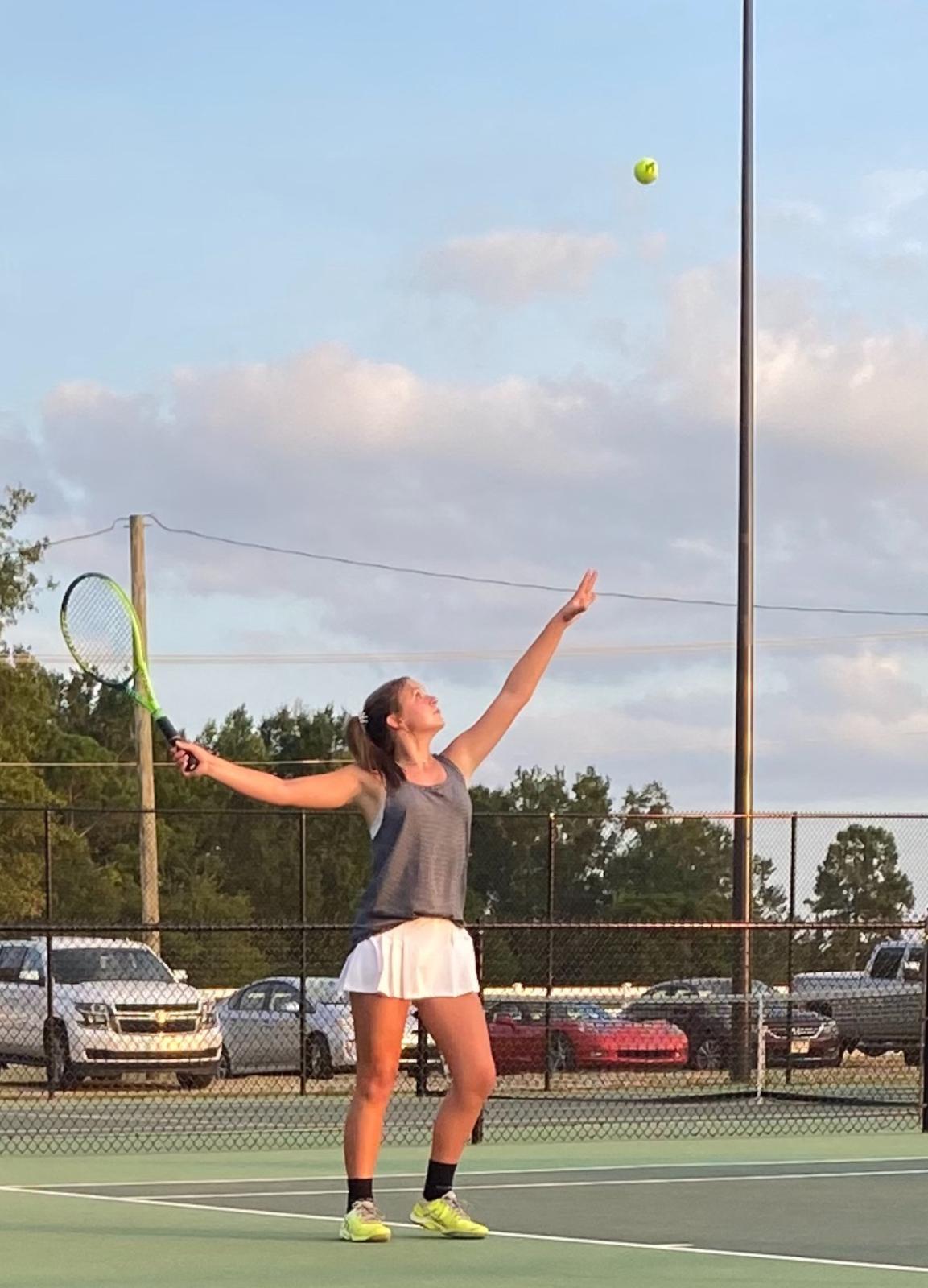 Laurens Raider Lady Tennis