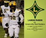 LDHS Football vs. Greenville ticket information