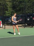 Raider Varsity Girls Tennis Greer Match