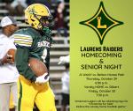 Homecoming and Senior Night Friday, October 30, 2020