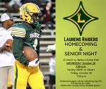 Laurens vs Gilbert Game Day Program Homecoming 2020