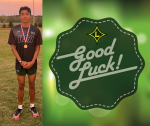 Luis Brena will represent LDHS in the 2020 Cross Country State Championship Thursday, November 5, 2020