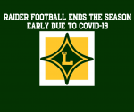 Raider Football Ends the Season Early Due to COVID-19