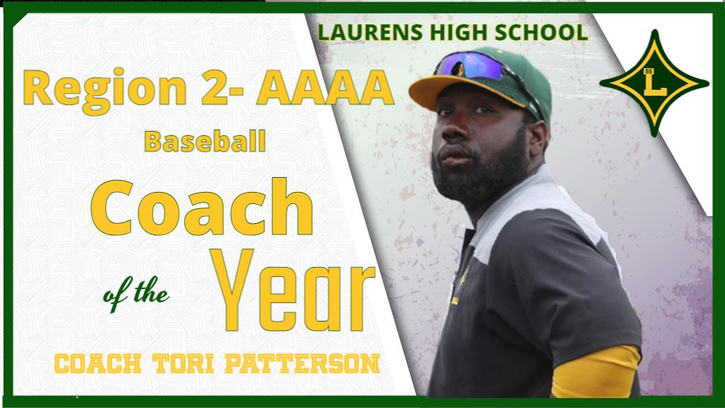 Congratulations Coach Tori Patterson