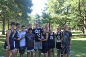 Boy's and Girl's Cross Country 2016