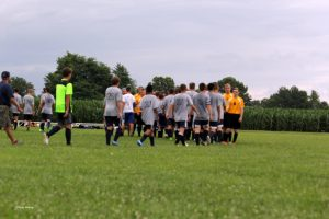 Milan Scrimmage, 7-27-17