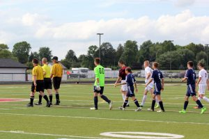 OA Boys at Knightstown, 8-17-17