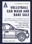 Volleyball hosting Fundraising Event July 25th!