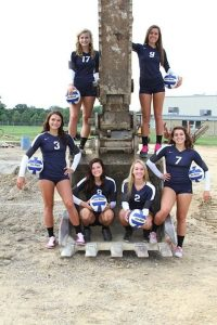 2014 High School Volleyball Team Photos