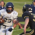 Football Knights Begin Prep for Bishop's Trophy Tilt with Guerin Catholic