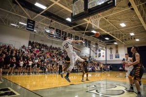 Boys Varsity Basketball vs. McCutcheon