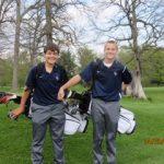 Lafayette Central Catholic High School  Boys Varsity Golf beat Rossville High School 160-169