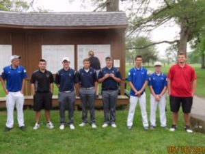 C.C. Boys Varsity Golf 2015 Hoosier Conference Champs