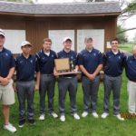 Lafayette Central Catholic High School  Boys Varsity Golf finishes 1st place