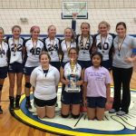 8th Grade Volleyball Dominant in Tourney Wins