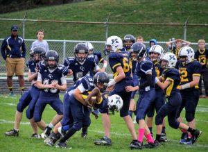 8th Grade Football vs Klondike Overtime Victory