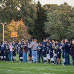 Lafayette Central Catholic High School  Varsity Football beat West Lafayette-Senior Night 38-20