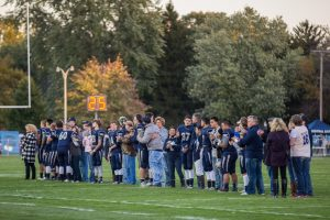 Knights Football vs. W. Lafayette – 2015 – Senior Night