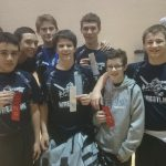 Knights JH Wrestling Place Eight at WCJC Tourney