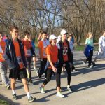 C.C. Knights Track Participates in Purdue Cancer Research 5K