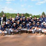 Lafayette Central Catholic High School  Varsity Baseball beat Hebron High School 6-1