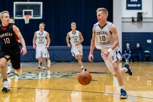 CC Varsity Boys Basketball vs. Rensselaer 2017-1-7