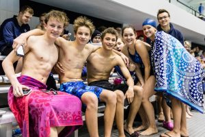 CC Swimming at the Brebeuf Invitational 2017-1-24