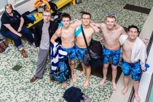 CC Boys Swimming Regular Season Finale 2017-2-9