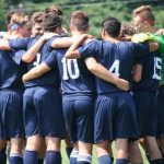 Lafayette Central Catholic High School  Boys Varsity Soccer beat Indiana Math & Science Academy West 5-3
