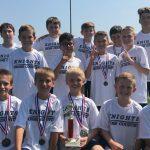 Jr. High XC Boys Team Wins Blackhawk Invitational