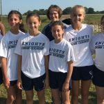 Jr. High Girls Harriers Place 4th at Sheridan