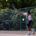 Lafayette Central Catholic High School  Boys Varsity Tennis beat Fountain Central High School 3-2