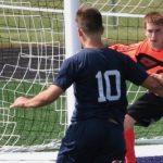 Lafayette Central Catholic High School  Boys Varsity Soccer beat Northwestern High School 3-2