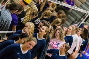 CC Varsity Volleyball vs Guerin 2017-9-13