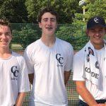 Lafayette Central Catholic High School  Boys Varsity Tennis falls to Harrison High School 4-1