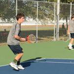 Lafayette Central Catholic High School  Boys Varsity Tennis beat Carroll High School 5-0