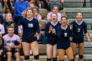 CC Varsity Volleyball vs West Lafayette 2017-9-27