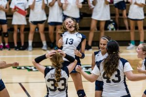 CC Gr. 7 and Gr. 8 Volleyball Sweep Clinton Central 2017-10-3
