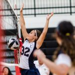 CC Gr.8 Volleyball Prevails over a Tough Southwestern Team 2017-10-4