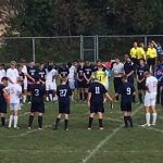 Lafayette Central Catholic High School  Boys Varsity Soccer beat Faith Christian School 3-1