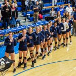CC Varsity Volleyball Sweeps Pioneer for the 2017 Semi-State