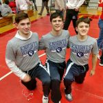 Wrestlers End Season at Semi-State