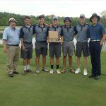 Boys Golf Team Win Hoosier Conference Champioship