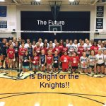 Knights Ground The Falcons on Elementary Night
